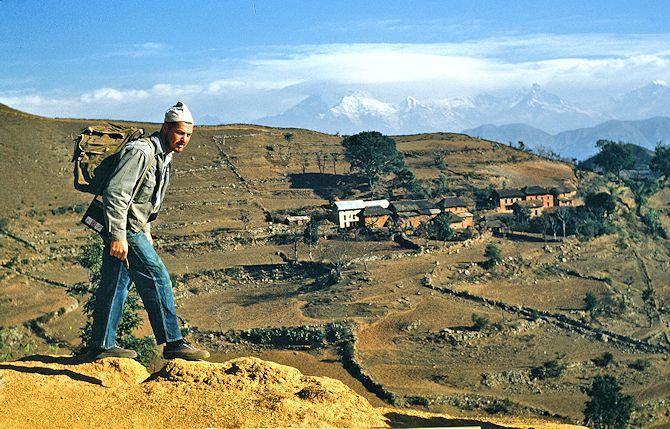 Otho Horst in Tansen Nepal